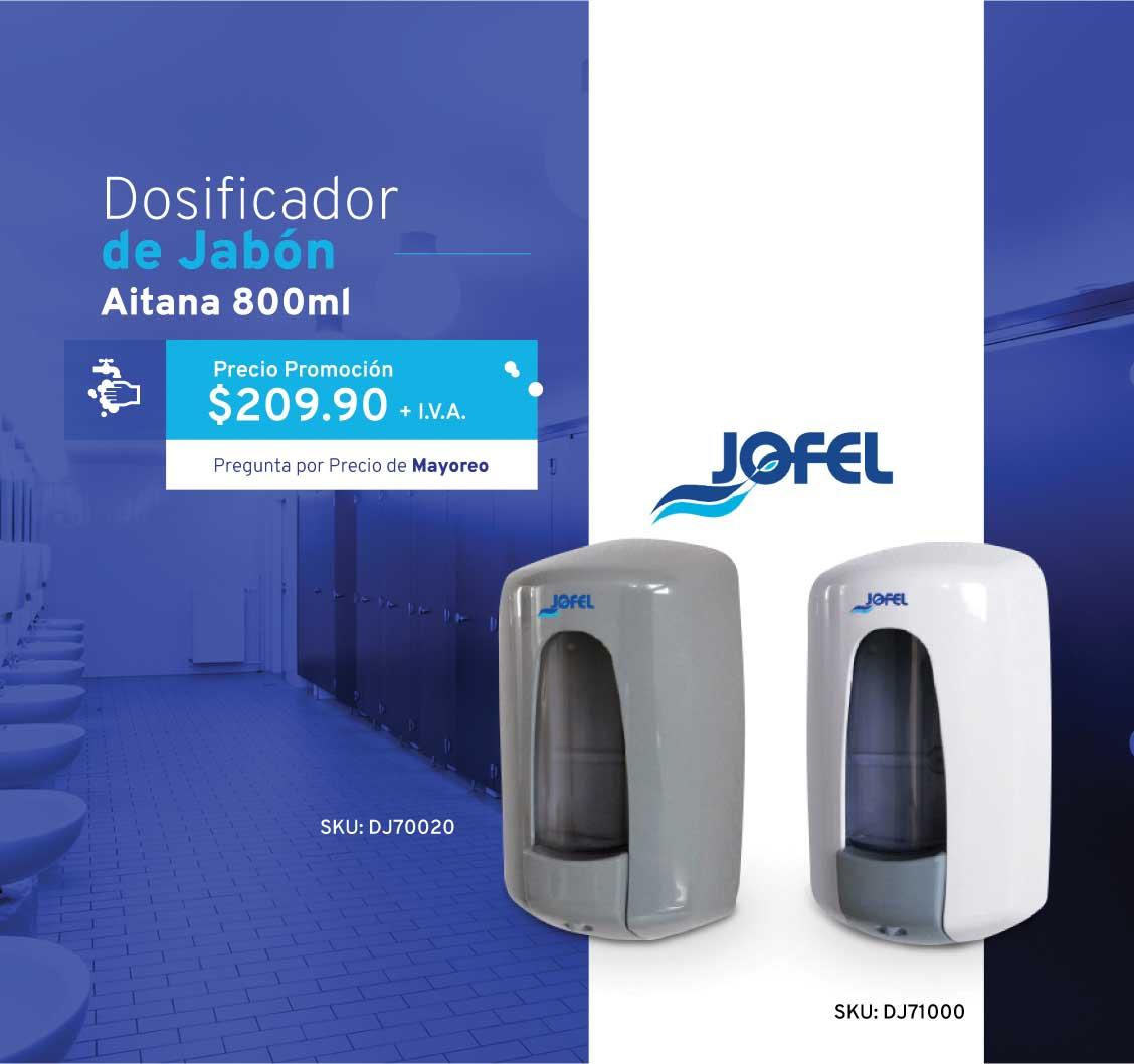 Dosificador de Jabón, Jofel